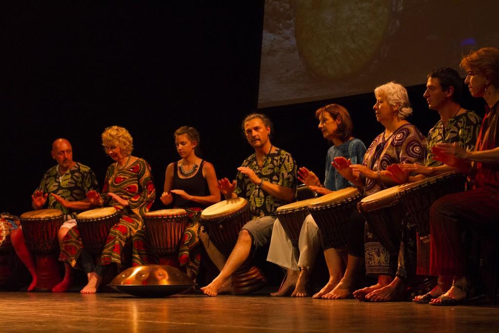 Adansé percussions afro